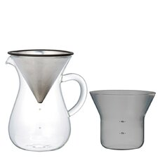 Slow Coffee 2.5 Cup Coffee Carafe Set