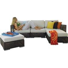 Soho 5 Piece Deep Seating Group with Cushion