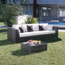 Soho 3 Piece Deep Seating Group with Cushions
