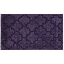 TruSoft Lattice Design Bath Rug