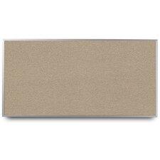 Narrow Aluminum Framed Cork Wall Mounted Bulletin Board