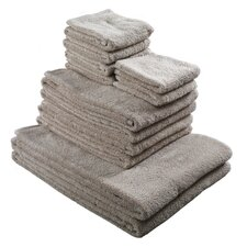 Pure Cotton 12 Piece Towel Set