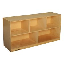 Mobile Toddler Toy and Block Shelf