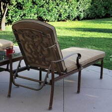 Santa Barbara Chaise Lounge with Cushion