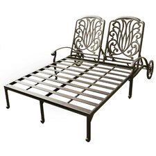 Elisabeth Double Chaise Lounge Frame