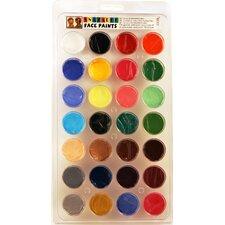 Face Paint Top 28 Color Palette