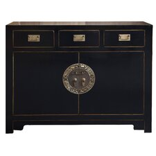 Chinese 2 Door 3 Drawer Cabinet