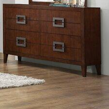 Arata 8 Drawer Dresser with Mirror