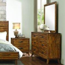 Sorrel 6 Drawer Dresser with Mirror
