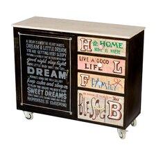 Amara 4 Drawer, 1 Door Cabinet