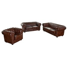 3-Sitzer Chesterfield Sofa Norwin