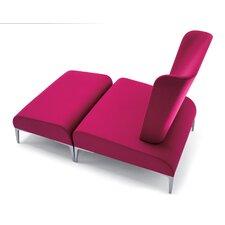 Fi Tall Lounge Chair and Ottoman
