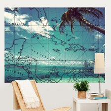 Pirate Beach Wall Mural