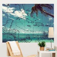Pirate Beach Wall Mural