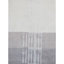 Cutlery Jacquard Tea Towel (Set of 2)