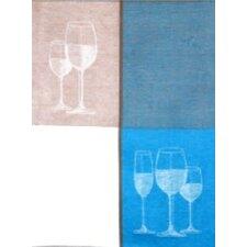 Wine Jacquard Tea Towel (Set of 2)