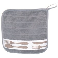 Cutlery Terry Potholder (Set of 2)