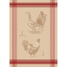 Rooster French Jacquard Tea Towel (Set of 2)