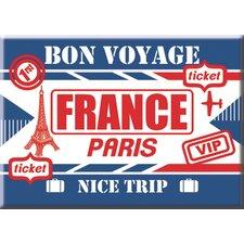 Bon Voyage Decorative Magnet
