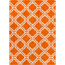 Starbright Calipso Orange Area Rug