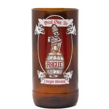 Rogue Dead Guy Ale Halloween 6 oz. Beer Pint Glass (Set of 2)