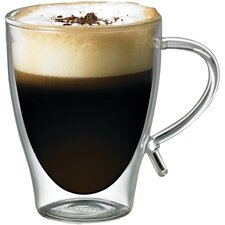 12 oz. Double-Wall Glass Coffee Cup