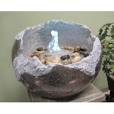 Resin Fractured Stone Fountain