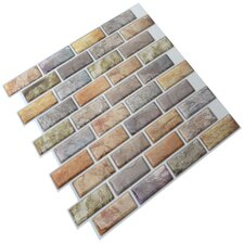 "12"" x 12"" Epoxy Peel & Stick Mosaic Tile"