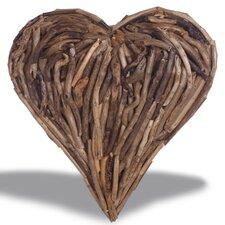 Wanddekoration Coal Creek Heart