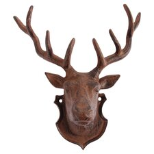 Deer Head Woodman Ridge Wall Décor