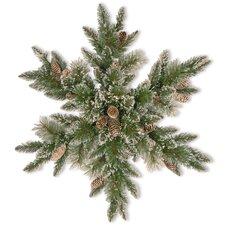 Sparkling Pine Snowflake