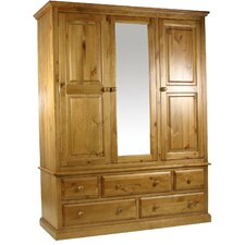 Dume 3 Door Wardrobe