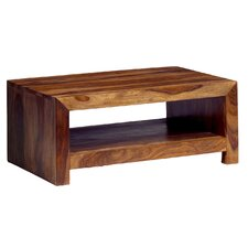 Trahom Coffee Table with Magazine Rack