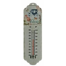 Spring Flowers Thermometer