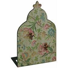 Fleur De Lys Floral Memo Board