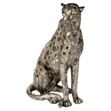 Sitting Cheetah Figurine