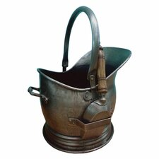 Gifts and Accessories Coal Scuttle with Shovel