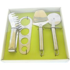 Energicus 4 Piece Spaghetti and Pizza Set