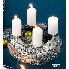 Kerzenleuchter Advent aus Metall