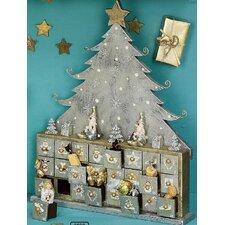 Adventskalender Weihnachtsszene
