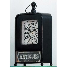 2-tlg. Standuhren-Set Antiquités 34 cm