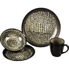 Komodo 16 Piece Dinnerware Set