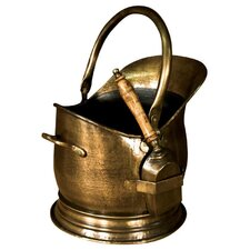 Coal Scuttle with Shovel