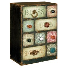 Gifts and Accessories With Our Blessings 9 Drawer Tabletop Chest