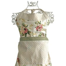 Cotton Vintage Rose Apron