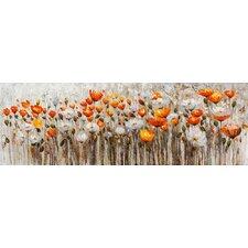 Leinwandbild Blumen Originalgemälde