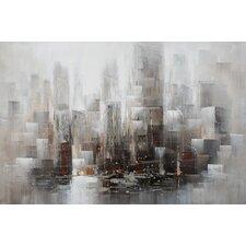 Gemälde Städte und Wolkenkratzer (Städte)