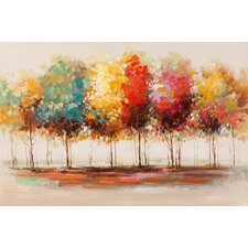 Gemälde Bäume