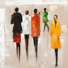 Gemälde Figuren