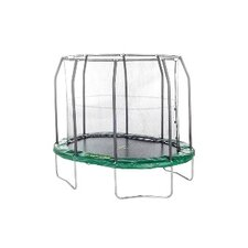 """Jump Space 213"""" Trampoline with Safety Enclosure"""